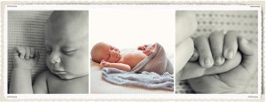 newborn details: hands, face, sleping baby