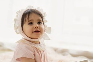 London Baby Photographer - Photograface by Valentina: baby girl with a pink dress