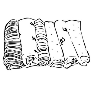 drawing of muslins - must have baby product