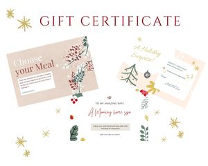 gifts for mums, printable gift voucher for Christmas