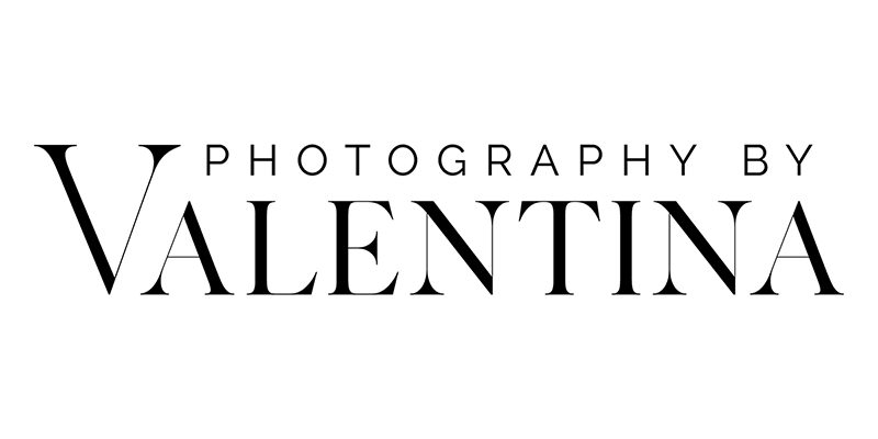 logo photography by valentina - maternity and newborn photographer london