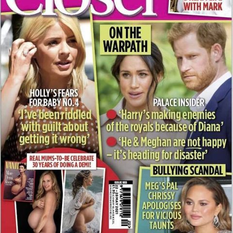 closer magazine cover: real mums-to-be celebrate 30 years of doing a Demi